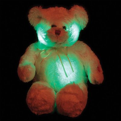 Blushing Light Up Bear,light up teddy bear,blushing bear night light,sensory toy warehouse light up bear night light,blushing bear night light,light up teddy bear,colour changing teddy bear,childrens night light teddy bear,glowing teddy bear,night light teddy bear,glow in the